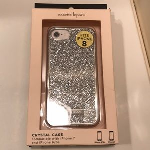 Crystal case compatible with iphone 6/6s 7 maybe 8